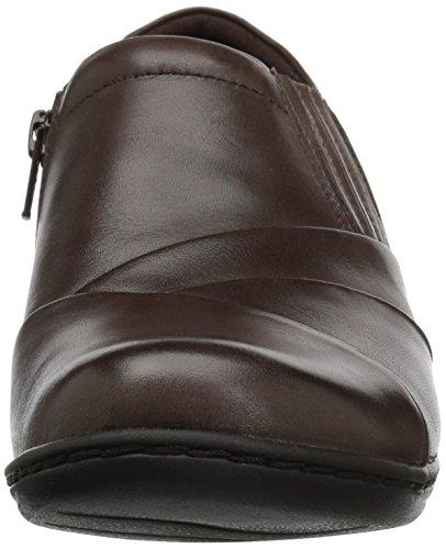 Leather Donna Sneaker Brown Clarks Black Nero 58wXfqf