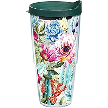 Tervis 1292538 Cant Touch This Cactus Insulated Tumbler with Wrap 24oz Amethyst