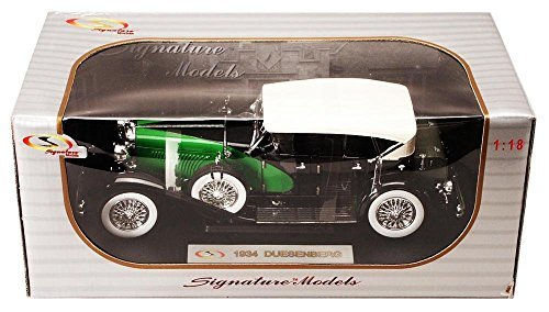 1934 Duesenberg, Black - Signature Models 18110 - 1/18 Sc...