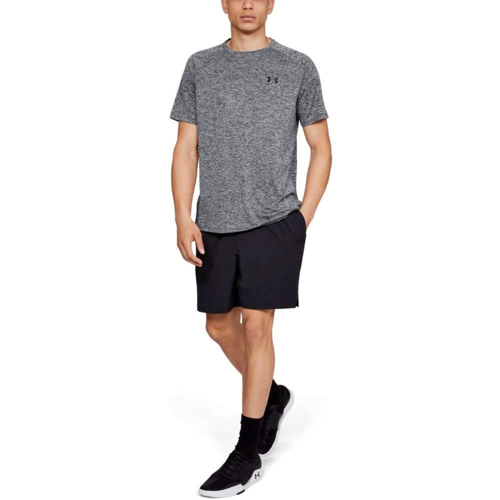 Under Armour Men's Tech 2.0 Short Sleeve T-Shirt, Black (002)/Black, 3X-Large by Under Armour (Image #3)