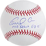 Carlos Correa Houston Astros Autographed Baseball with MLB Debut 6-8-15 Inscription - Fanatics Authentic Certified