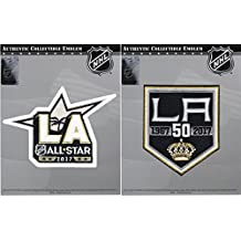 2016 NHL Los Angeles Kings 50th Anniversary & 2017 All Star Combo Jersey Patch