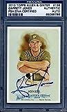 2010 allen ginter auto - 2010 Topps Allen & Ginter Garrett Jones Signed Auto Card Pirates Slabbed - PSA/DNA Certified - Autographed Baseball Cards