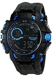 Armitron Sport Men's 40/8335 Digital Chronograph Resin Strap Watch