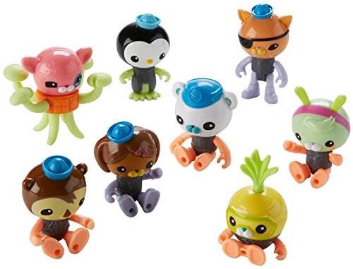 Fisher-Price Octonauts Octo Glow Crew Pack -