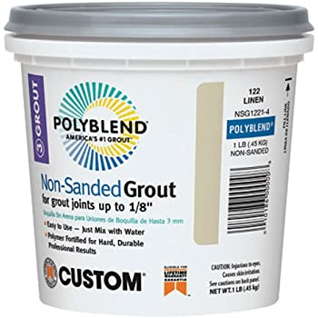 CUSTOM BLDG PRODUCTS NSG3811-4 Non-Sanded Grout
