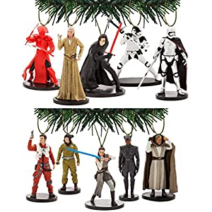 Disney's Star Wars The Last Jedi 10 Piece Ornament Set 72