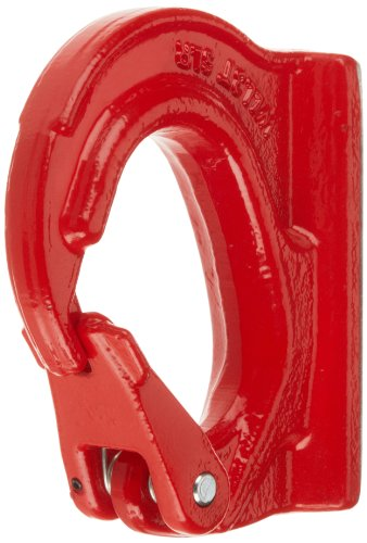 Rope Spring Hook (Indusco 47401400 Alloy Steel Weld On Hook, Painted Finish, 3 Ton Working Load Limit)