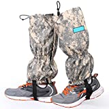 High Thicken Snow Leg Gaiters, Oumers Winter Keep Warm Waterproof Breathable Wraps Leg Boot Covers For Hiking Ski Climbing Hunting Walking Snowshoeing Mountaineering Ice Equipment