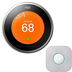 Image of the product Nest Protect Wired Smoke that is listed on the catalogue brand of Nest.