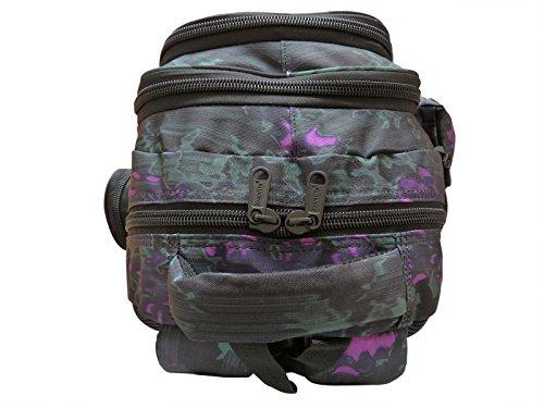 Schulrucksack Tasche - mit passendem Federmäppchen - Mittlere Größe Rucksäcke - 6 - Schlittschuhläufer - 30 Liter Rucksack Skate Tages Paket - 46cm x 32 20 - Roamlite RL838M Funky Wasser Grün PTrIC