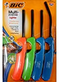 BiC Multi-Purpose Lighter - 4 Lighter Value Pack with 1...