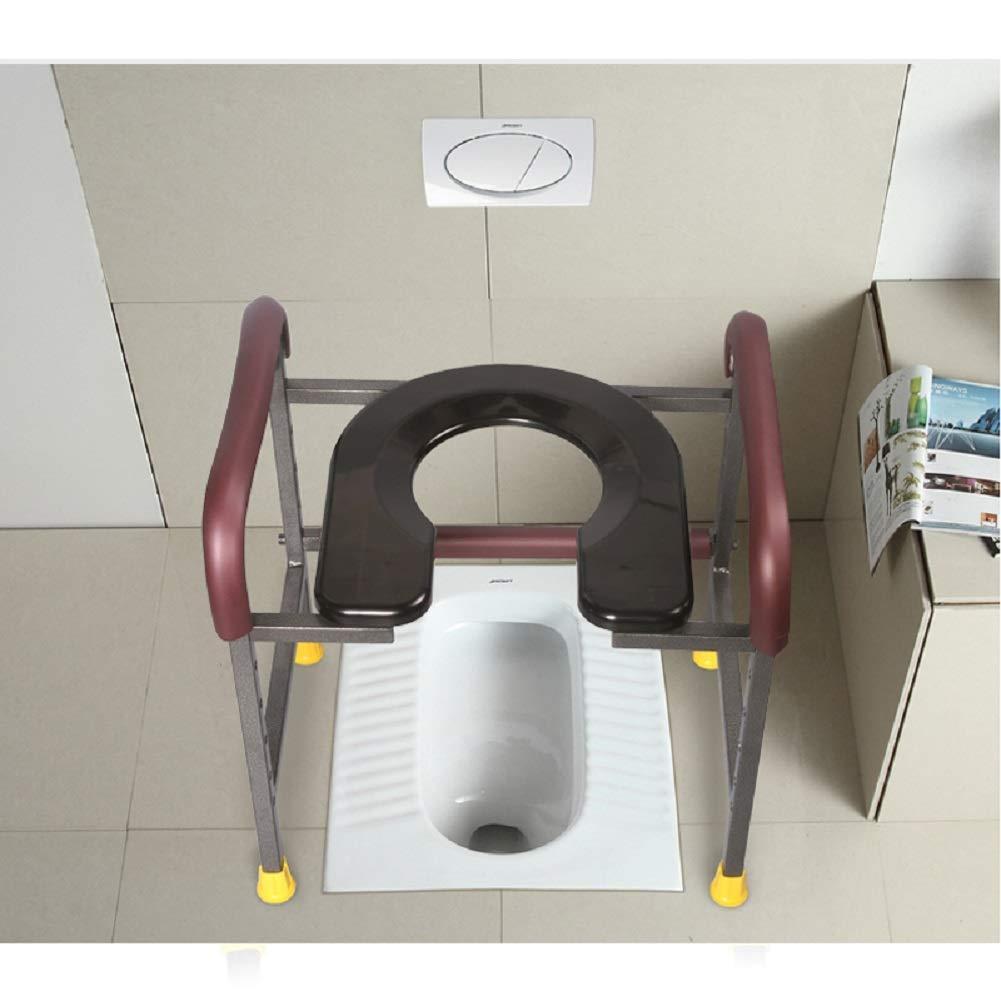 Edahbjnest5mk pliante Tabouret de toilettes de WC avec