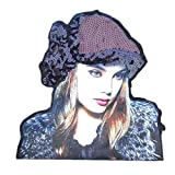 Fashion 3D Beautiful Girl Custom Patches Sew On Applique-03