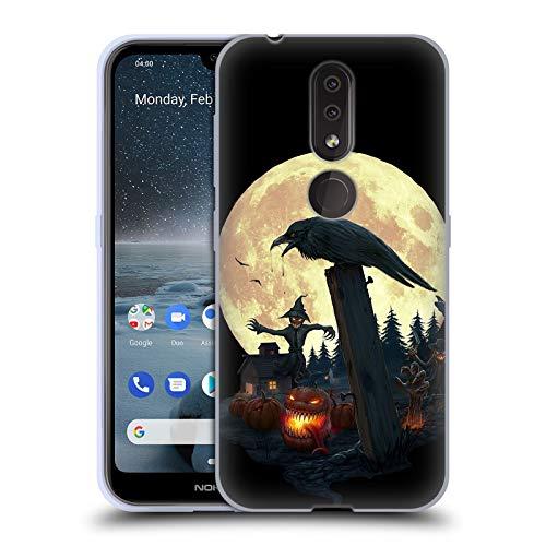 Official Christos Karapanos Halloween Theme Horror 2 Soft Gel Case Compatible for Nokia -