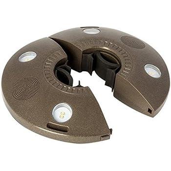 Amazon Com Ion Audio Patio Mate Umbrella Light And