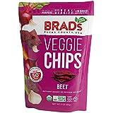 Brad's Plant Based Organic Veggie Chips, Beet, 12 Count