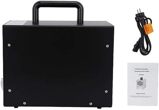 BTIHCEUOT Generador de ozono portátil, Desodorización Desinfección Máquina de ozono Purificador de Aire del hogar Generador de ozono: Amazon.es: Hogar