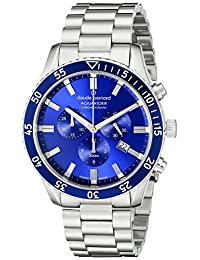Claude Bernard Men's 10223 3MBU BUIN Aquarider Analog Display Swiss Quartz Silver Watch