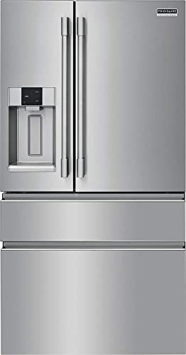 Amazon Com Frigidaire Professional Prmc2285af 36 Inch Counter Depth 4 Door French Door Refrigerator With 21 8 Cu Ft Capacity Convertible Zone Drawer Appliances