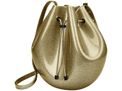 Sac Bag (Transparente/ouro/preta)