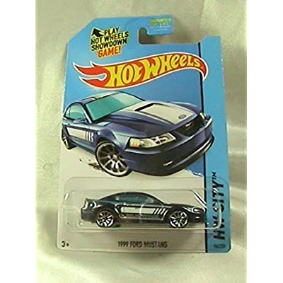 2014 Hot Wheels Hw City 96/250 - 1999 Ford Mustang: Toys & Games
