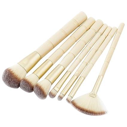 MEIYY Pincel de maquillaje 7 Unids Maquillaje Cepillo Traje ...