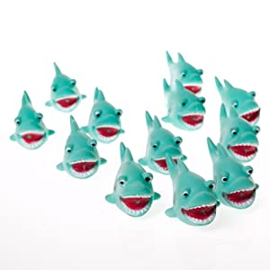 Fun Express Mini Shark Squirts (24 Pack)