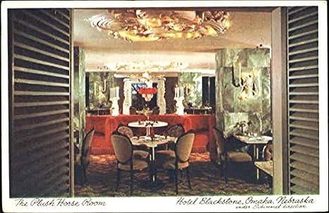 Awesome The Renowned Plush Horse Room Omaha, Nebraska Original Vintage Postcard