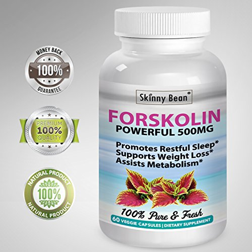~ STRONG ~ 500mg FORSKOLIN Extract for Weight Loss Pure Natural Vitamin Supplement Maximum Strength 60 super powder veggie capsules pills dr oz diet bounty