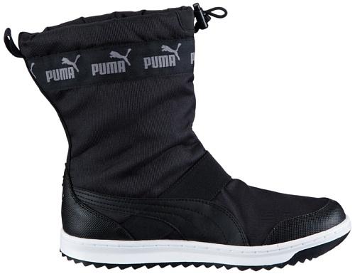 Puma Snow Ankle Wns 355483 Damen Schneestiefel Schwarz (black 02)