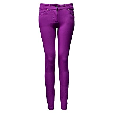 5b8de95dc1c Image Unavailable. Image not available for. Colour  WOMENS LADIES COLORED  SKINNY FIT JEANS LEGGING JEGGINGS STRECHY PLUS SIZE ...