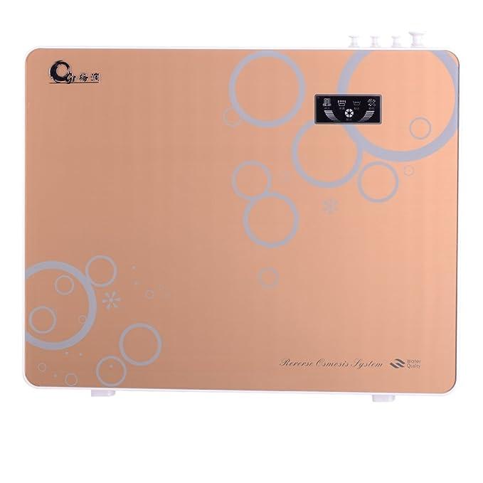 Gerun Touch pantalla menor ruido reemplazables 5 etapa Osmosis inversa agua potable filtro sistema GR-400-RO (oro): Amazon.es: Hogar