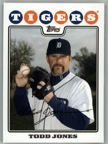 2008 Topps Detroit Tigers LIMITED EDITION Team Edition Gift Set # 27 Todd Jones - MLB Trading Card