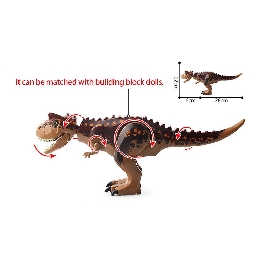 Sipobuy Tyrannosaurus Rex Grande Bloques de construcci/ón de Bricolaje Figura de Dinosaurio Juguetes Pel/ícula Indominus Jurassic World Raptor Set de Regalo para ni/ños Verde