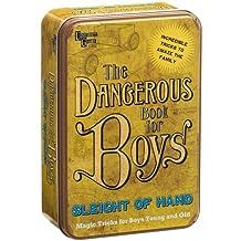 University Games The Dangerous Book for Boys- Sleight of Hand
