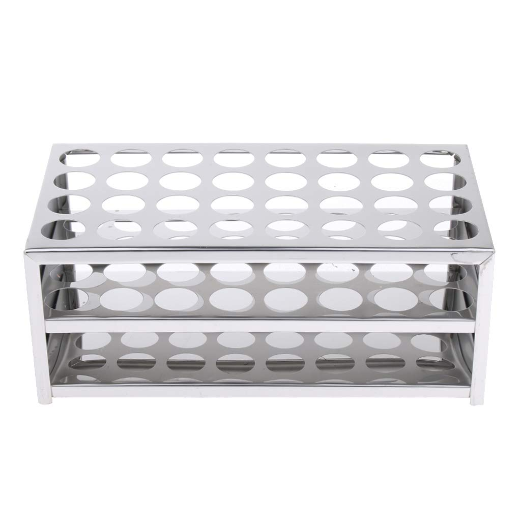 16mm Stainless Steel Test Tube Rack 25 Place