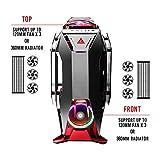 Antec Torque Black/Red Aluminum ATX Mid Tower