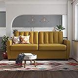 Novogratz Brittany Sleeper Sofa with Memory Foam