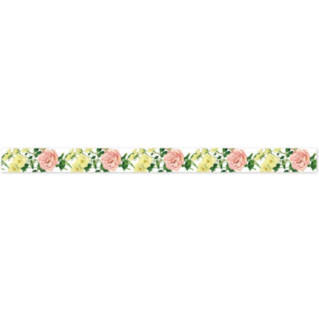 Frontia Masking Tape Flower Froral 0.6x7.6 15mmx7m Japan Import