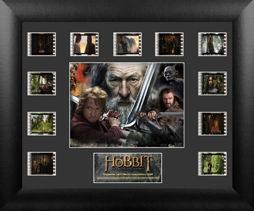 Film Cells USFC5964 Hobbit An Unexpected Journey - S2 - Mini Montage (Lord Of The Rings Mini Film Cell)