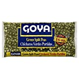 GOYA Green Split Peas 16.0 OZ(Pack of 12)