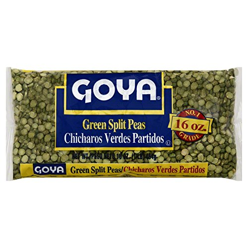 GOYA Green Split Peas 16.0 OZ(Pack of 12) by Goya