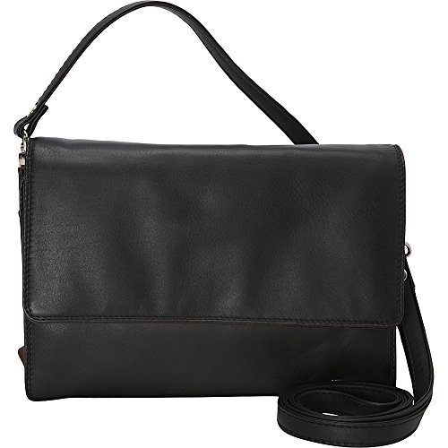 derek-alexander-leather-deluxe-clutch-with-shoulder-and-wrist-strap-black-and-brandy