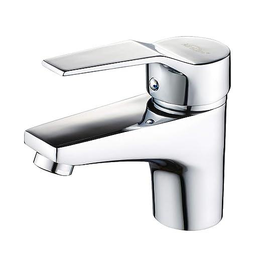Auralum Design Einhebel Wasserhahn Armatur Waschtischarmatur