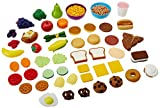 Learning Resources New Sprouts Complete Play Food Set, 50 Pieces