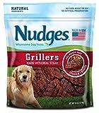 Nudges Grillers Dog Treats, Steak, 18 Ounce