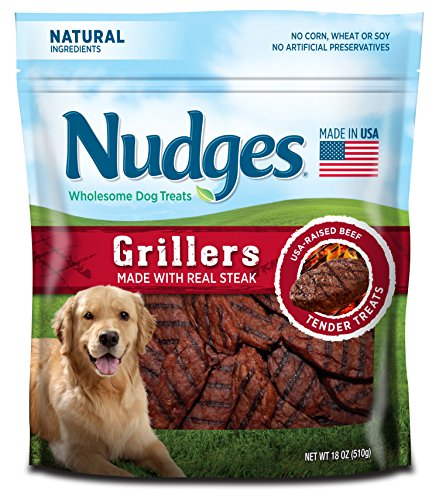 Nudges Grillers Treats Steak Ounce product image