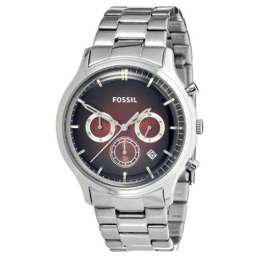 Fossil Men's FS4675 Ansel Stainless Steel Watch