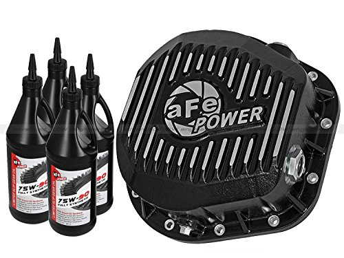 aFe Power 46-70022-WL Pro Series Machined Rear Differential Cover with Gear Oil by aFe Power (Image #7)